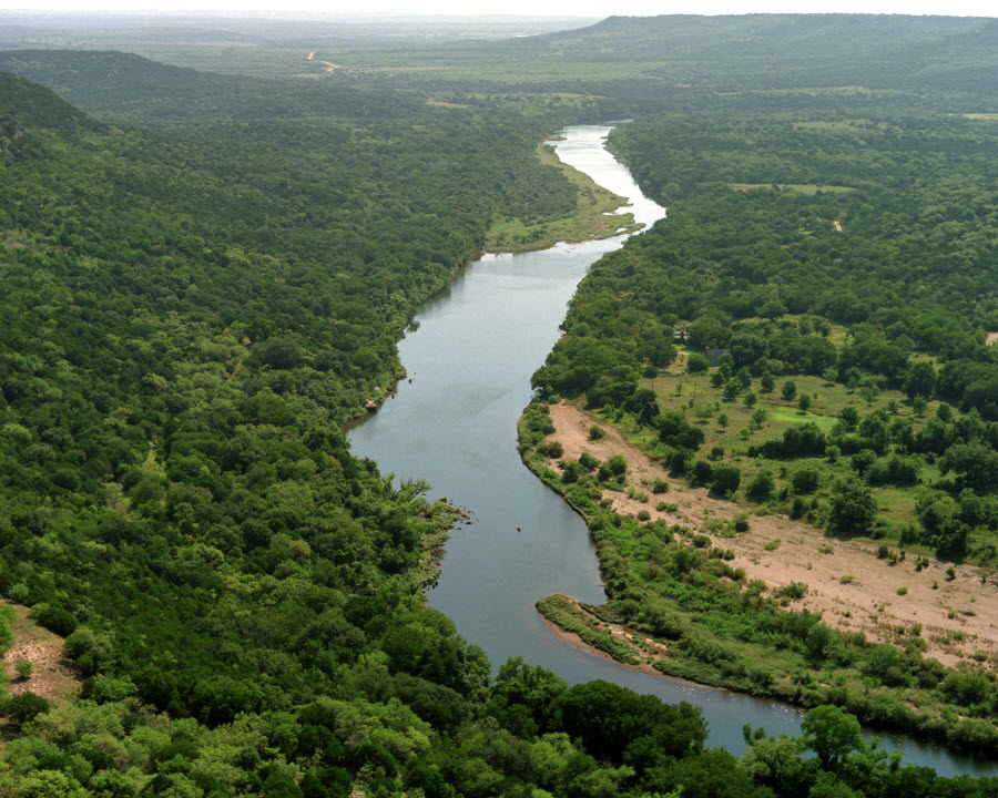 What is the Brazos River?