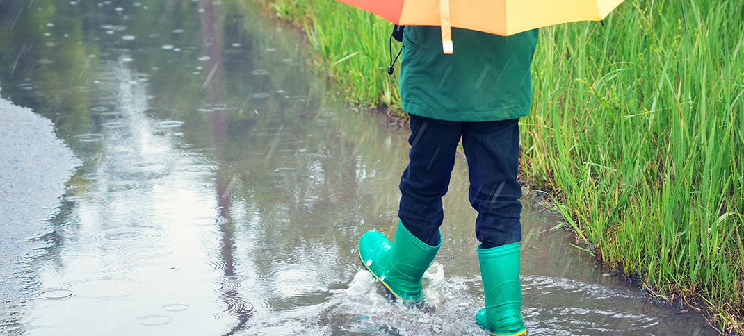 Keep the rain boots out and an eye on river levels